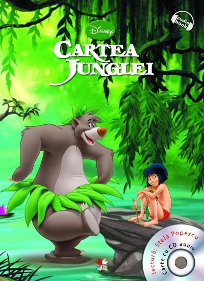 DISNEY AUDIOBOOK. CARTEA JUNGLEI CARTE + CD