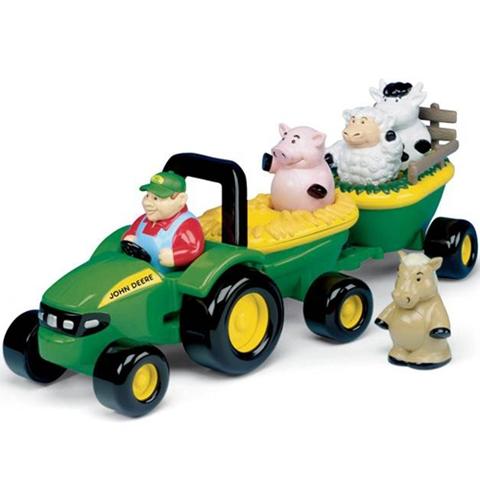 Tractor cu animale cu sunete