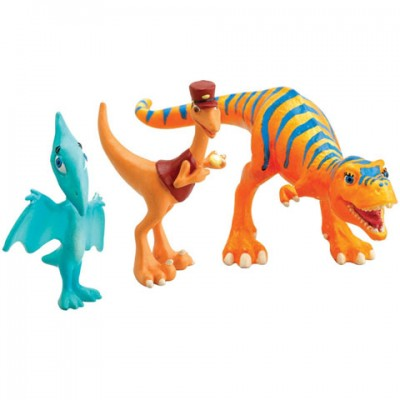Set 3 dinozauri Dolores,Mr Conductor,Shiny