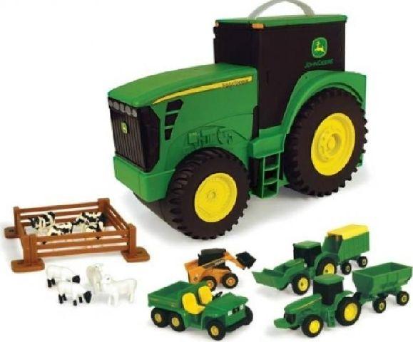 Tractor cu valiza depozitare