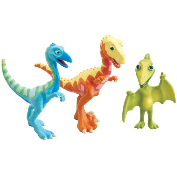 Set 3 dinozauri Derek,Ollie, MrP