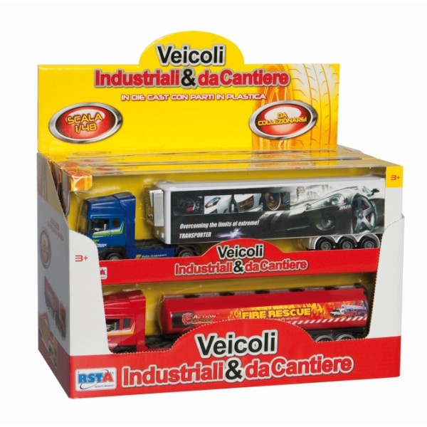 Jucarie camion diecast mic