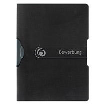 Dosar cu clips EO Bewerbung,30coli,negru
