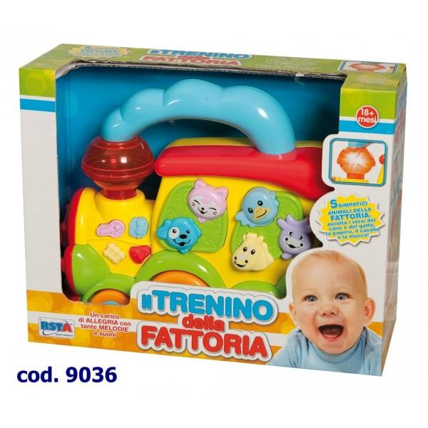 Jucarie locomotiva baby