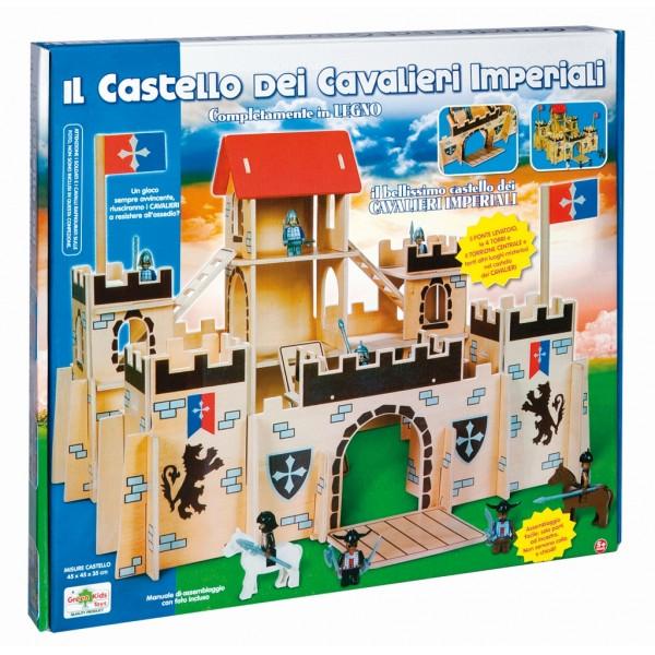 Jucarie lemn castel