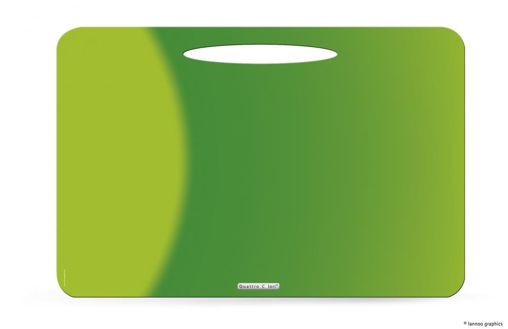 zzMapa birou QuattroColori,PP,verde