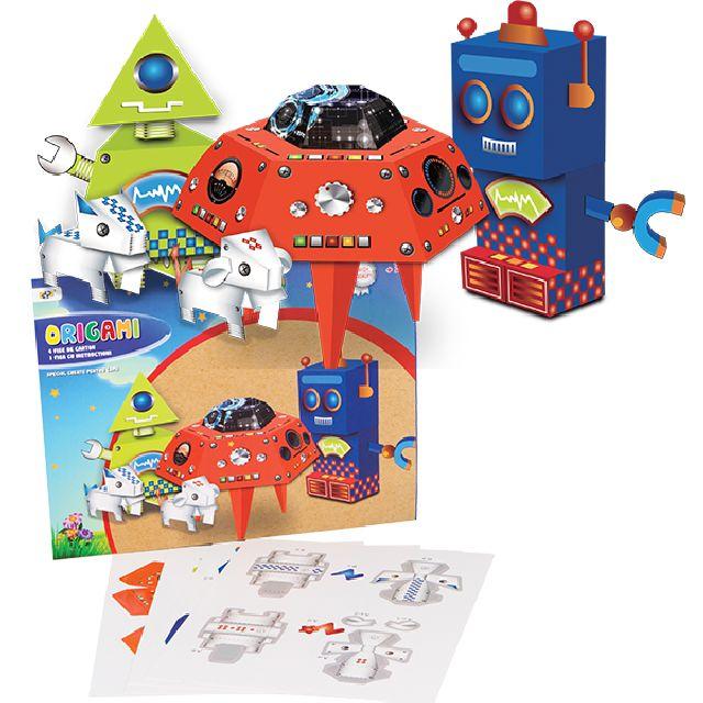 Set origami roboti,4fise,Fantasy Friends