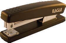 zzCapsator EAGLE 4001 negru, capse 24/6
