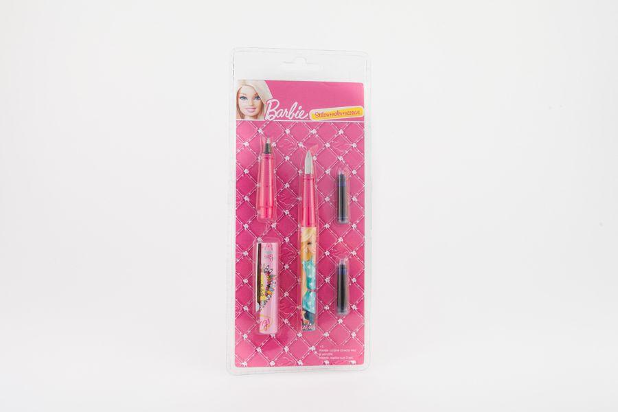 Stilou+cap roller+2 rezerve, Barbie