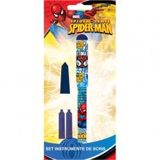 Stilou+cap roller+2 rezerve, Spiderman