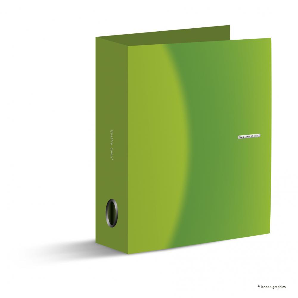 Biblioraft QuattroColori, 8 cm, verde