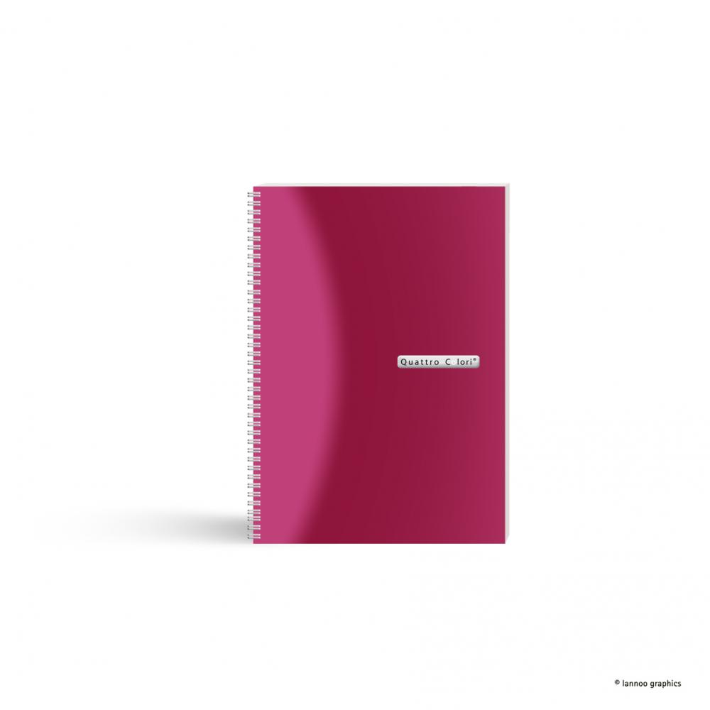 zzAgenda spira,A5,90f,QuattroColori,roz