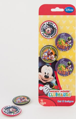 Insigne 6buc/set,Mickey