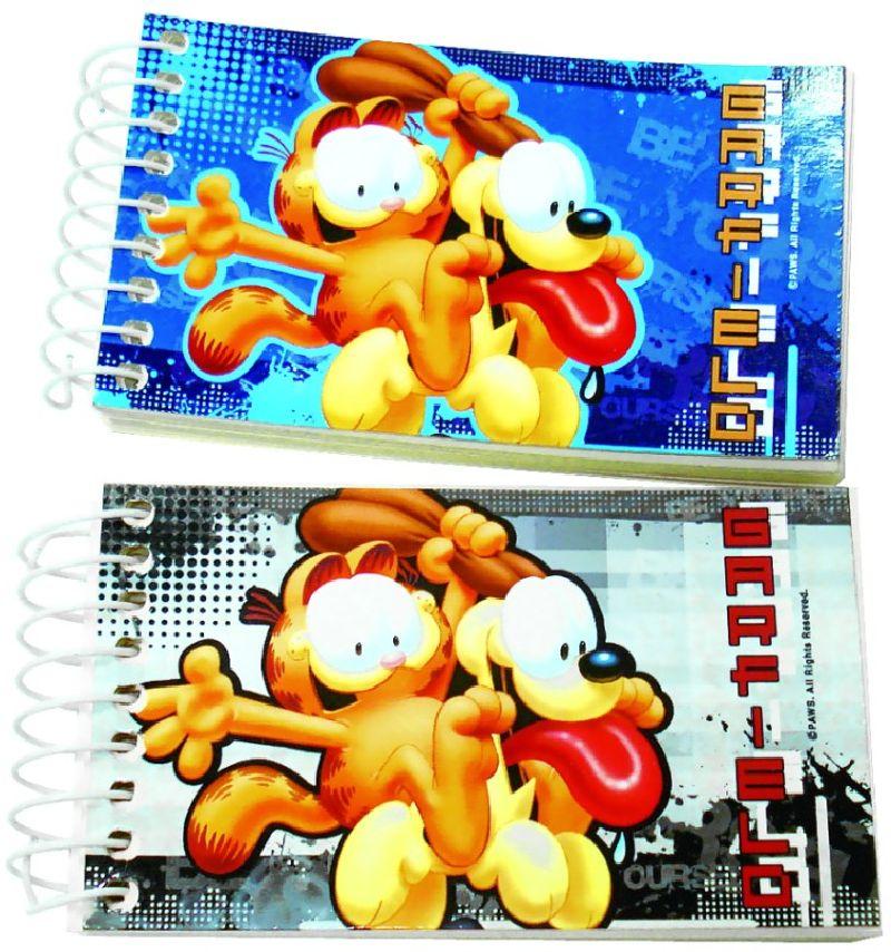 Bloc notes 6,5x11cm, Garfield