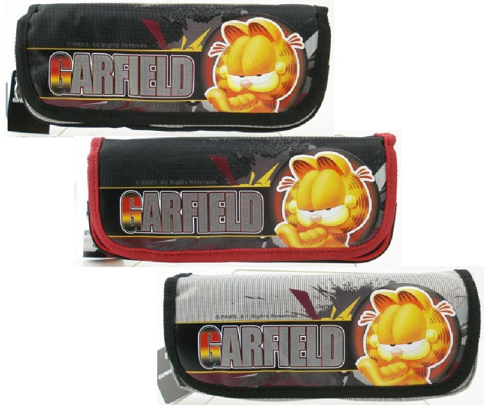Pouch Garfield 3051,gri/negru/rosu