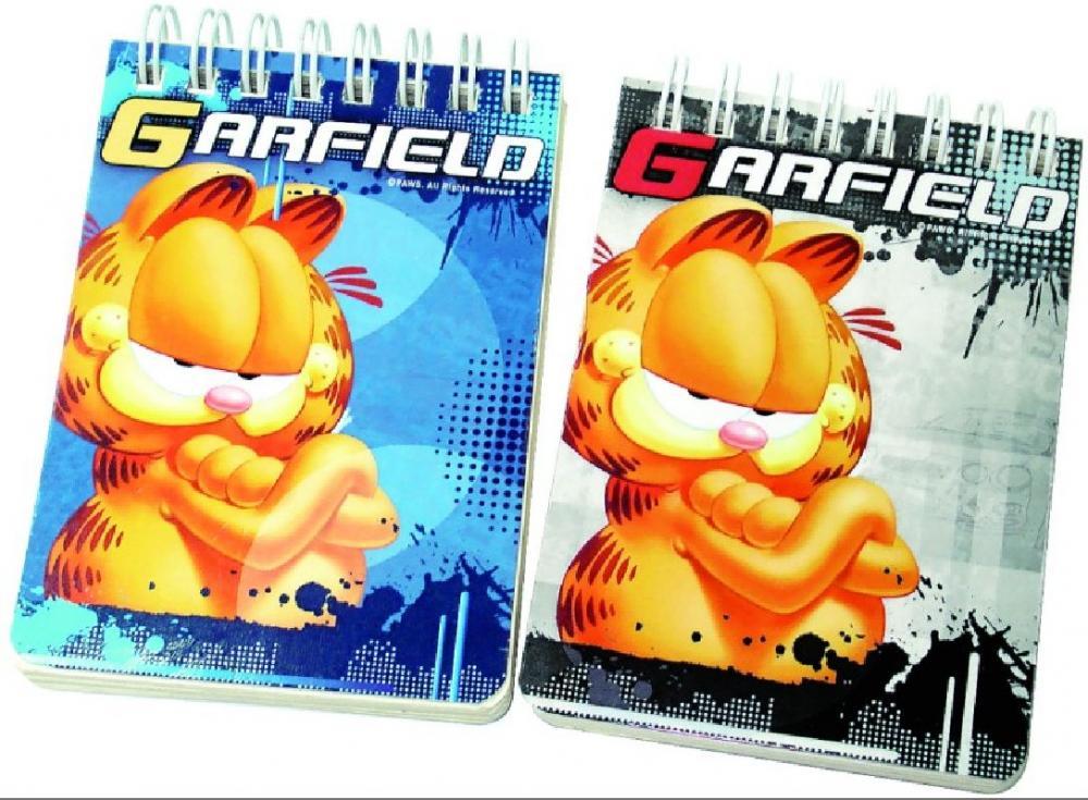 Bloc notes 7,5x11cm, Garfield