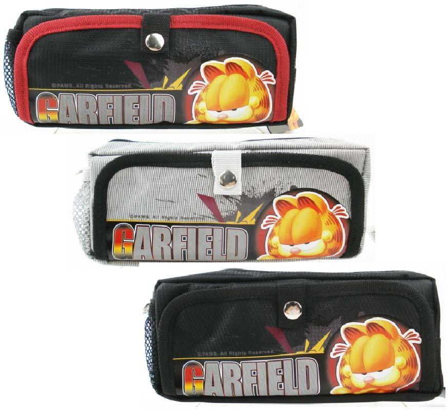 Pouch Garfield 3052 negru/rosu