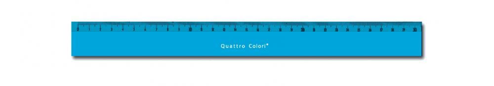 zzRigla 30 cm,QuattroColori,bleu