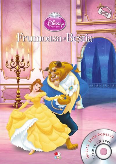 DISNEY. FRUMOASA SI BESTIA CARTE + CD
