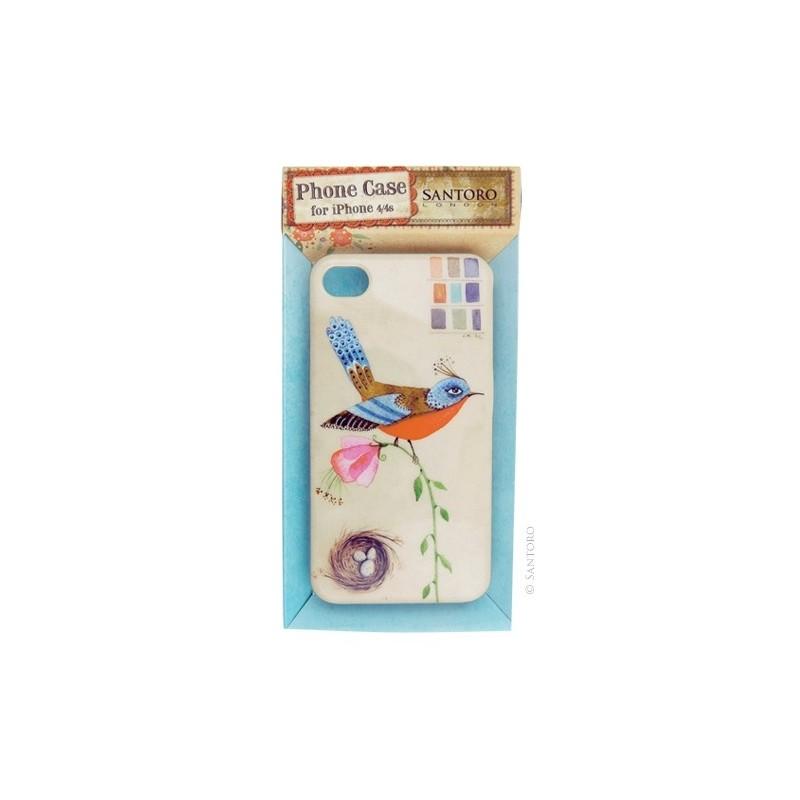 Carcasa iPhone 4/4s,Summer Garden