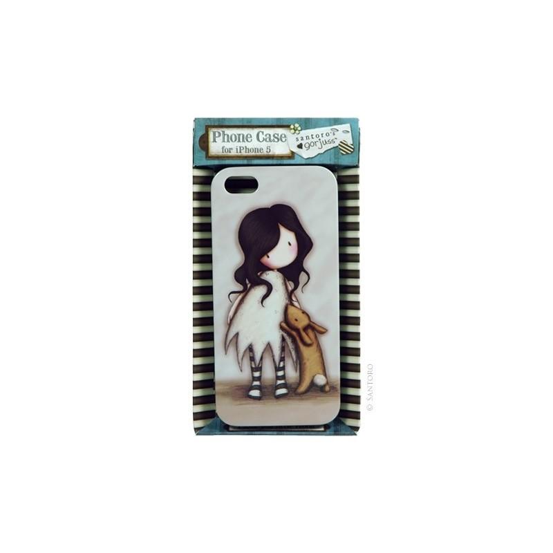 Carcasa iPhone5,I Love You Little Rabbit