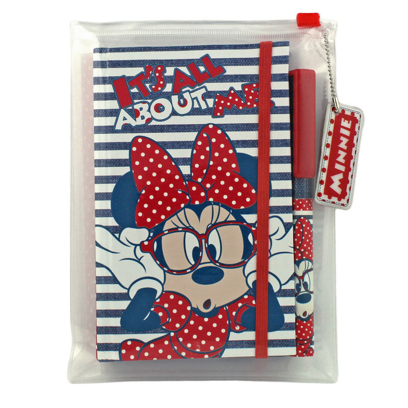 Set agenda+pix+pouch Minnie