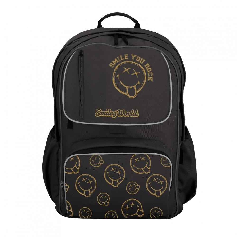Rucsac Be.Bag Cube,Smiley WorldGoldenRock