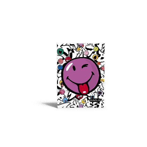 zzCaiet A4 mate.Smiley World Grafileitti,40file
