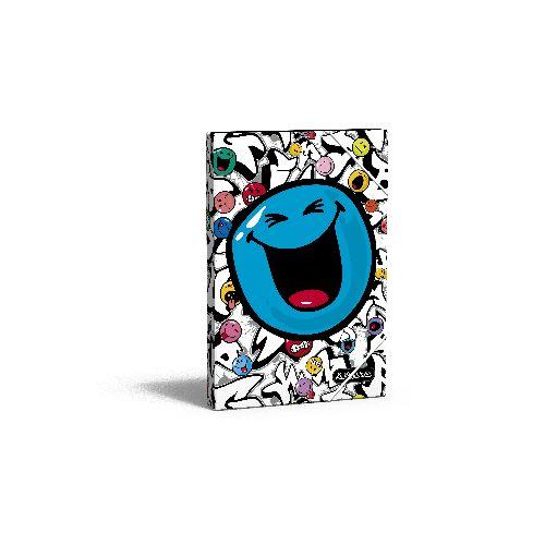 zzMapa cu separatoare,Smiley World Grafitti