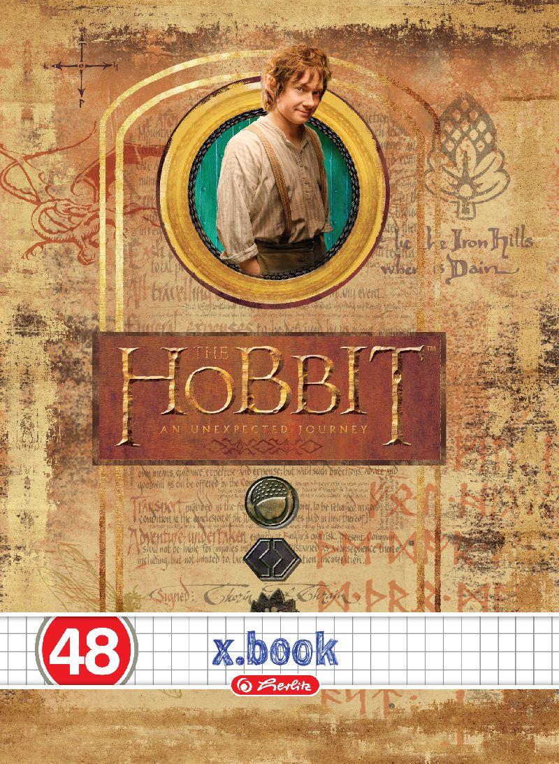 Caiet A5,48file,Hobbit,matematica