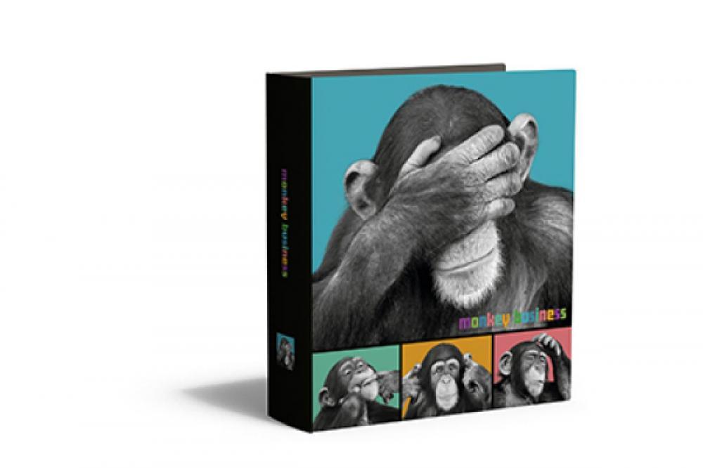 zzBiblioraft 8cm Monkey Business
