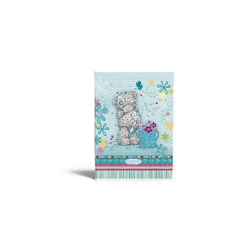zzCaiet A4 dict.MTY Flowers,40file,blue