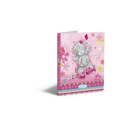 zzCaiet mec.A4 MTY Flowers,PP,mini,2in,roz