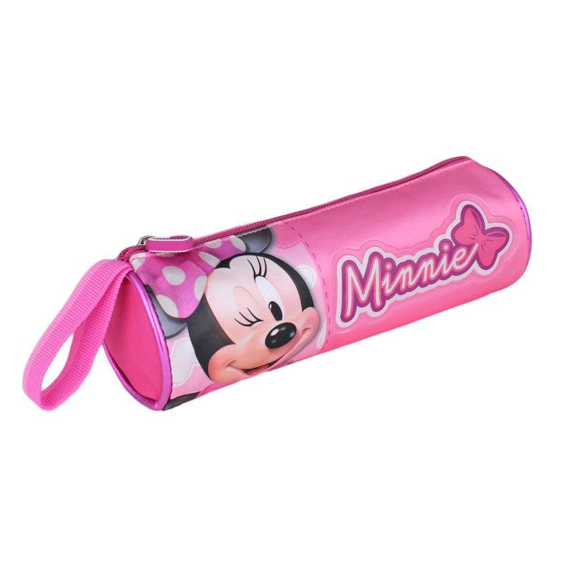 Pouch 21x6.5x6.5cm,roz,Minnie
