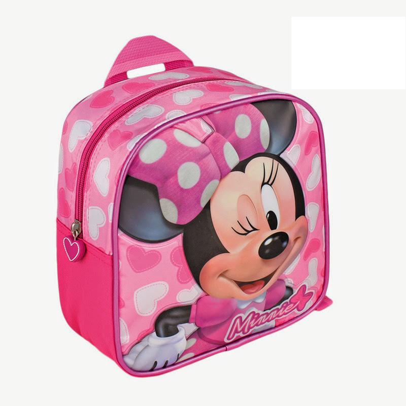 Mini rucsac 21x20x8cm,roz,Minnie