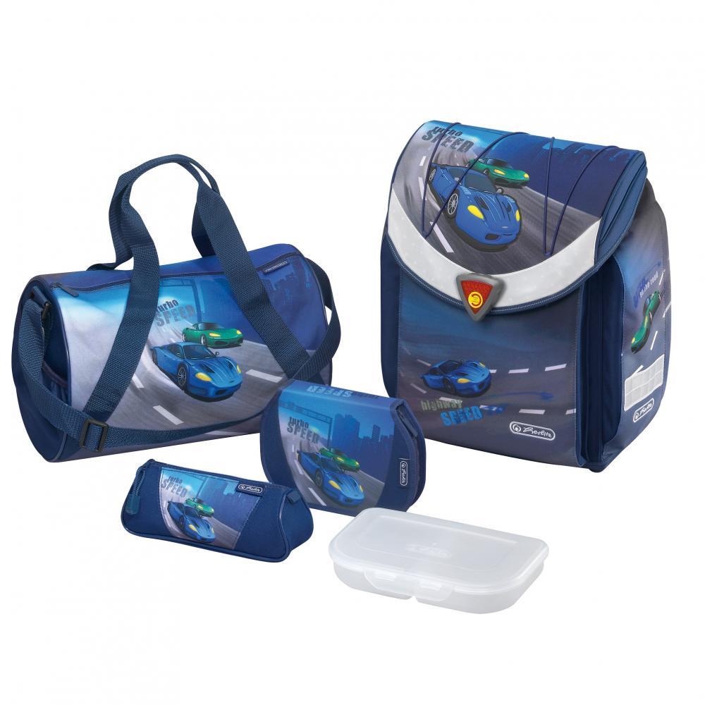 Ghiozdan echipat FlexiPlus,Speed