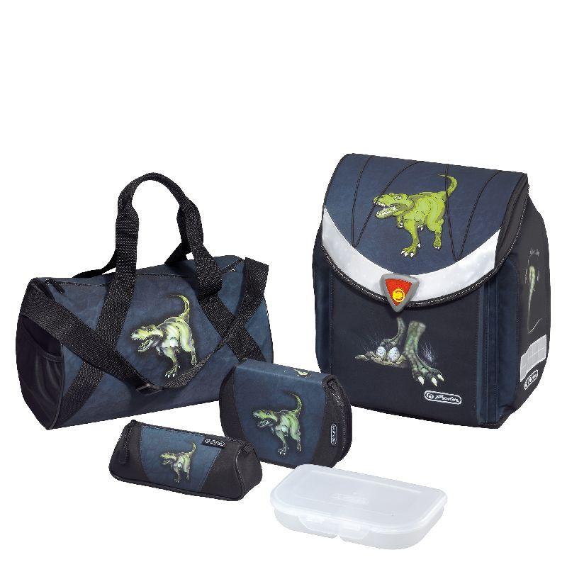 Ghiozdan echipat FlexiPlus,Dinomania