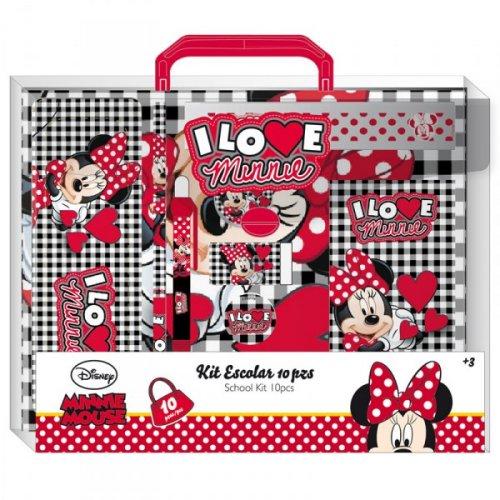 Set scolar 10piese,Minnie love