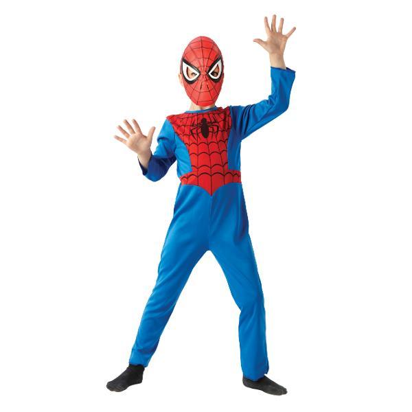 Costum cu masca Spiderman