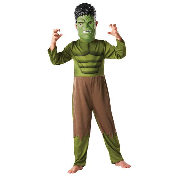 Costum cu masca Hulk