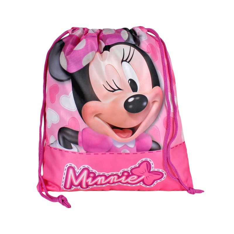 Mini sac 24.5x30cm,roz,Minnie