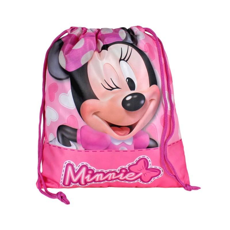 Mini sac 24.5x30cm,roz,Minnie