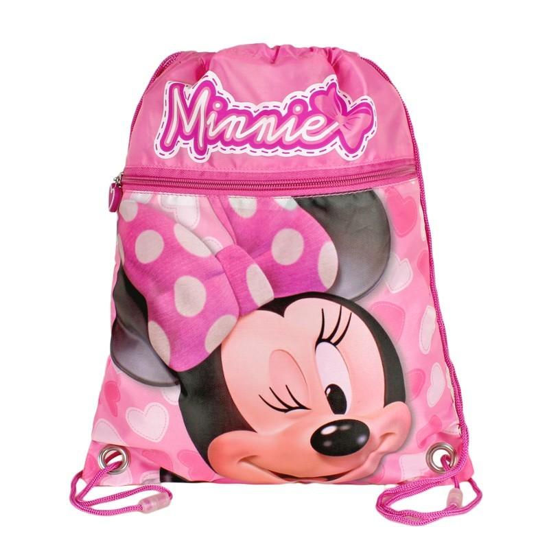 Sac sport 30x40cm,roz,Minnie