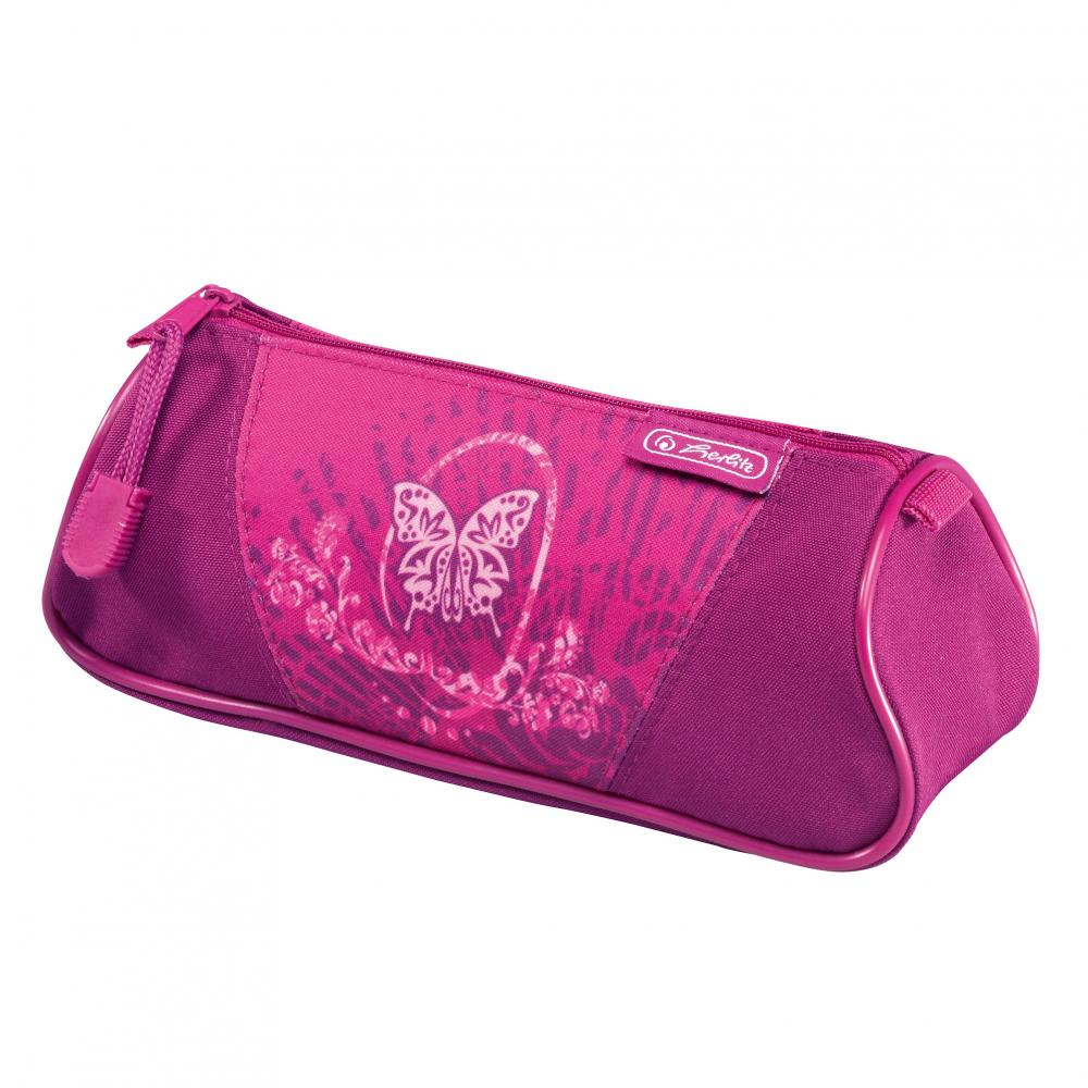 Pouch triunghiular,Flexi Rose Butterfly