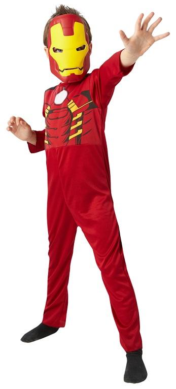 Costum cu masca Iron Man