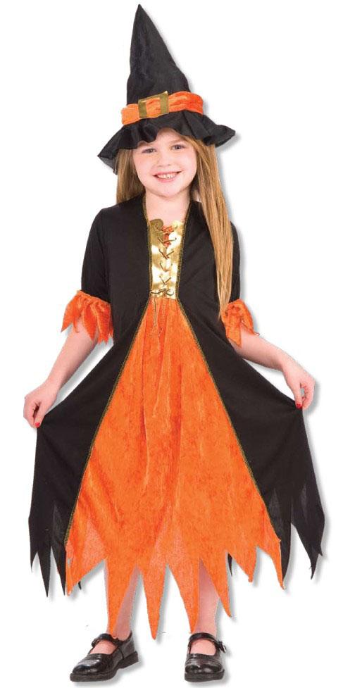 Costum fete Vrajitoare gotica S