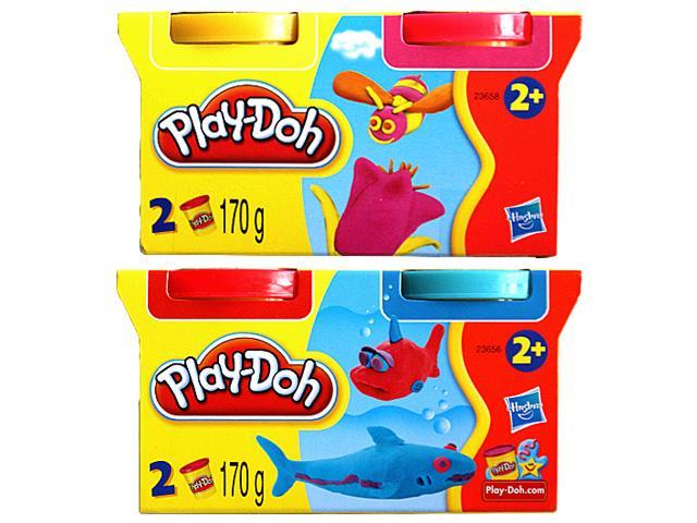 Set 2 cutii plastilina Play-Doh