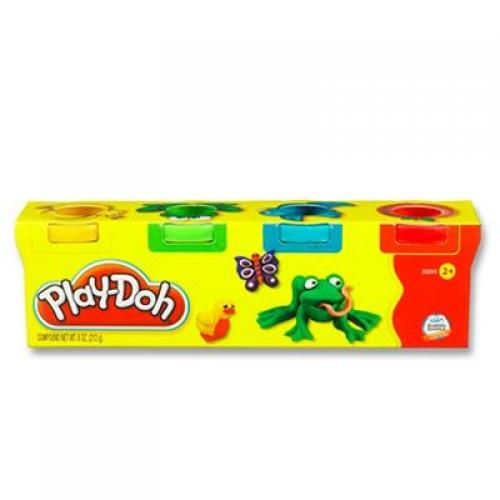 Set 4 cutii plastilina Play-Doh