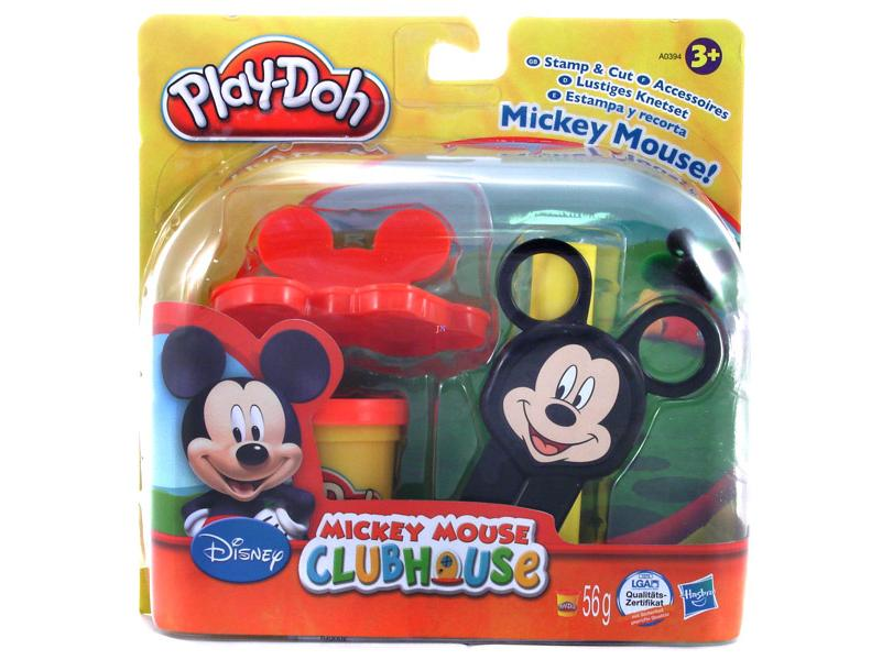 Set stampileaza si taie  Mickey Mouse Play-Doh
