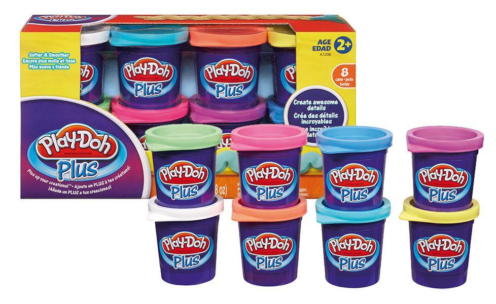 Set 8 cutii Play-doh